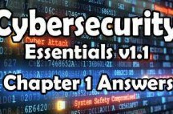 Cybersecurity Essentials v1.1 Chapter 1 Quiz Answers