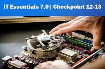 It essentials v7.0 Checkpoint 12-13 Exam Answers
